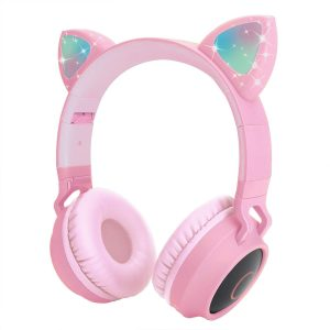 Pink Cat Headphones